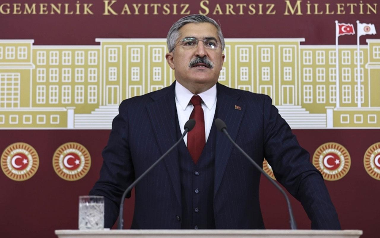 AK Partili Hüseyin Yayman'dan New York'taki skandal ilana tepki