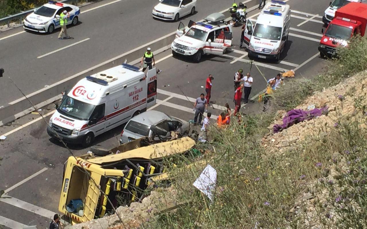 Muğla'da 24 kişinin öldüğü tur midibüsü kazası