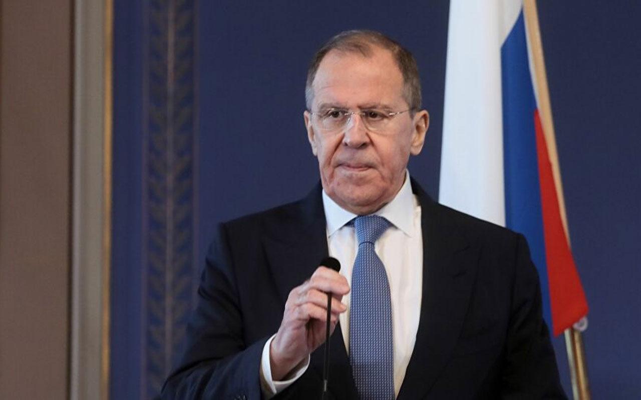 Sergey Lavrov: NATO, bağımsız dış politika yürüten Türkiye'ye yaptırım uyguluyor