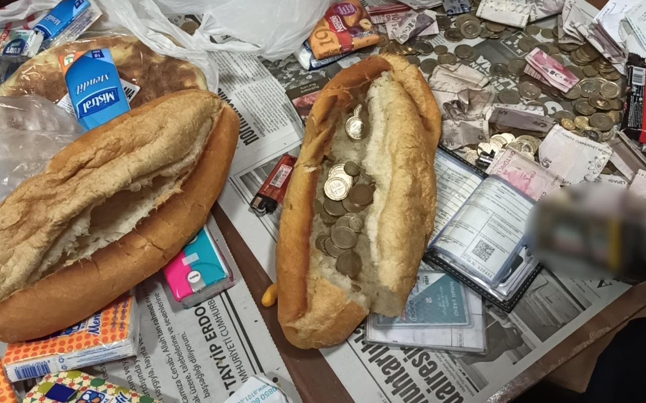 Ekmek arasından para çıktı, gören şaşkına döndü