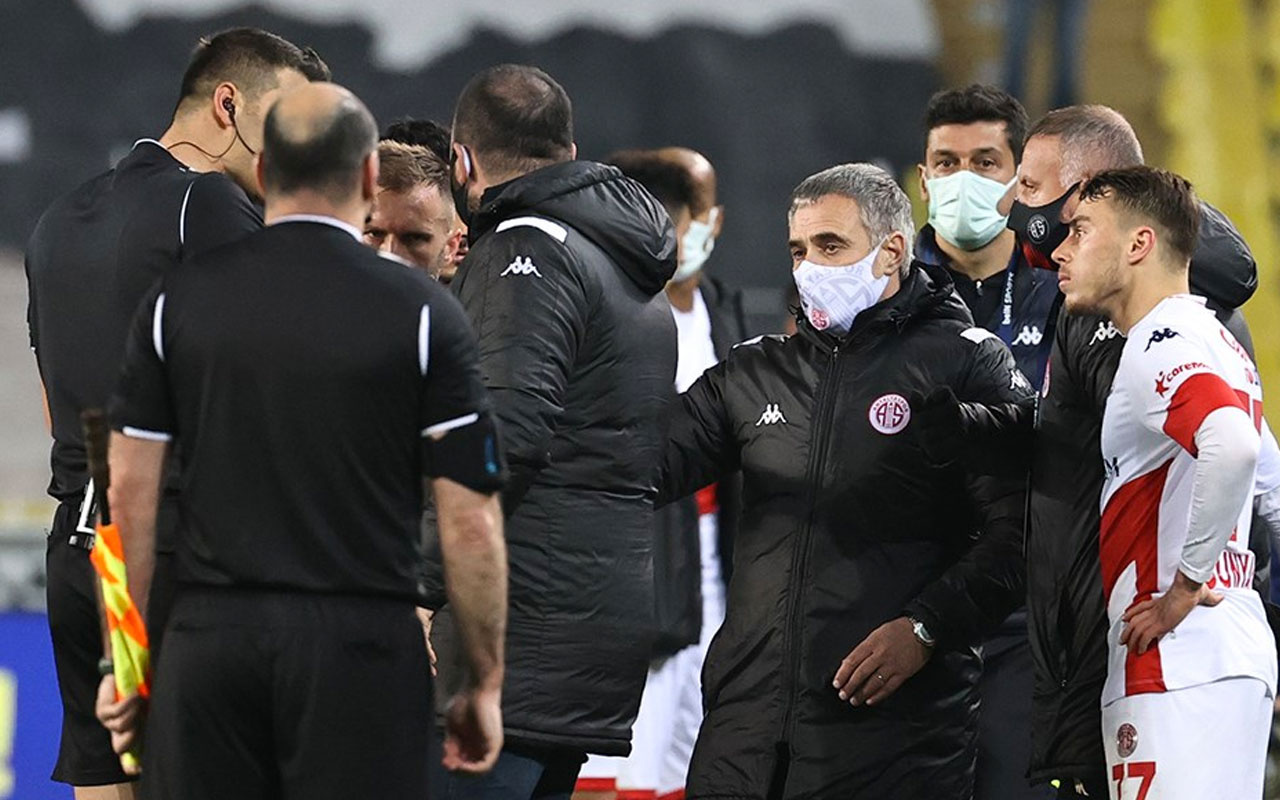 Antalyaspor'dan hakem isyanı: İki penaltımız verilmedi