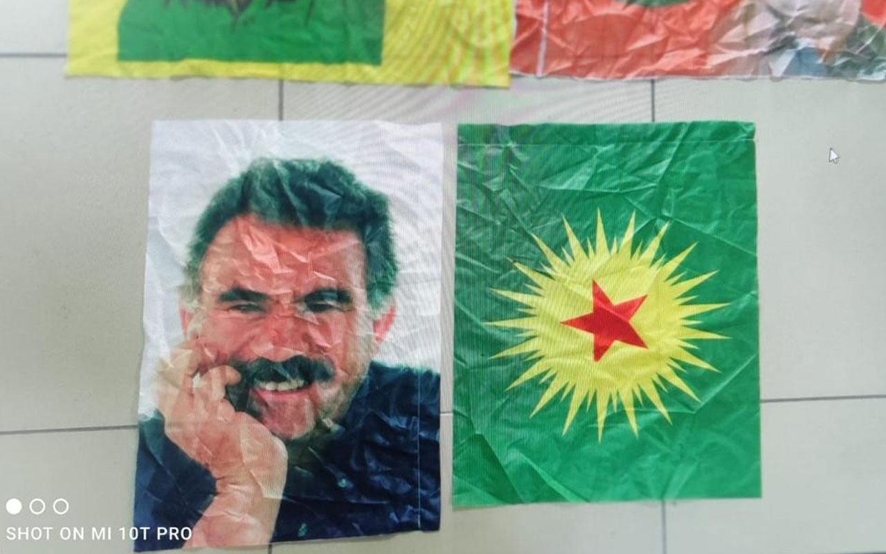 Van'daki belediyenin binasında Öcalan'ın fotoğrafları ele geçirildi