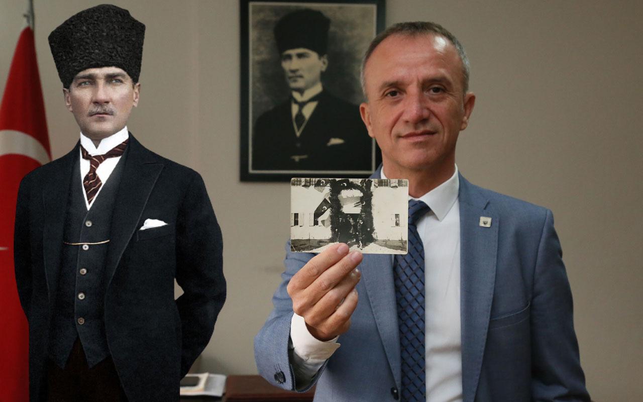 Atatürk'ün hiçbir yerde yayınlanmamış fotoğrafı Antalya'da ortaya çıktı