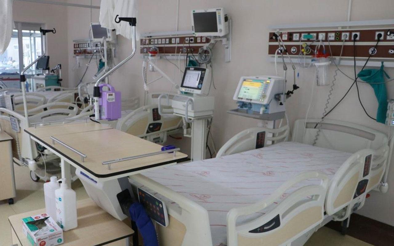 Covid-19 vakalarıyla ilgili Bingöl Devlet Hastanesi yoğun bakımdan haber geldi