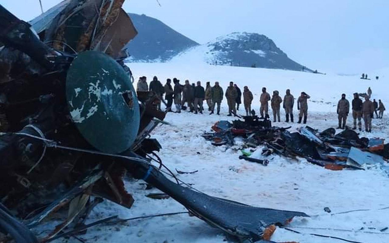 Bitlis'teki helikopter kazasında şehit olan askerler için dünyadan taziye mesajları