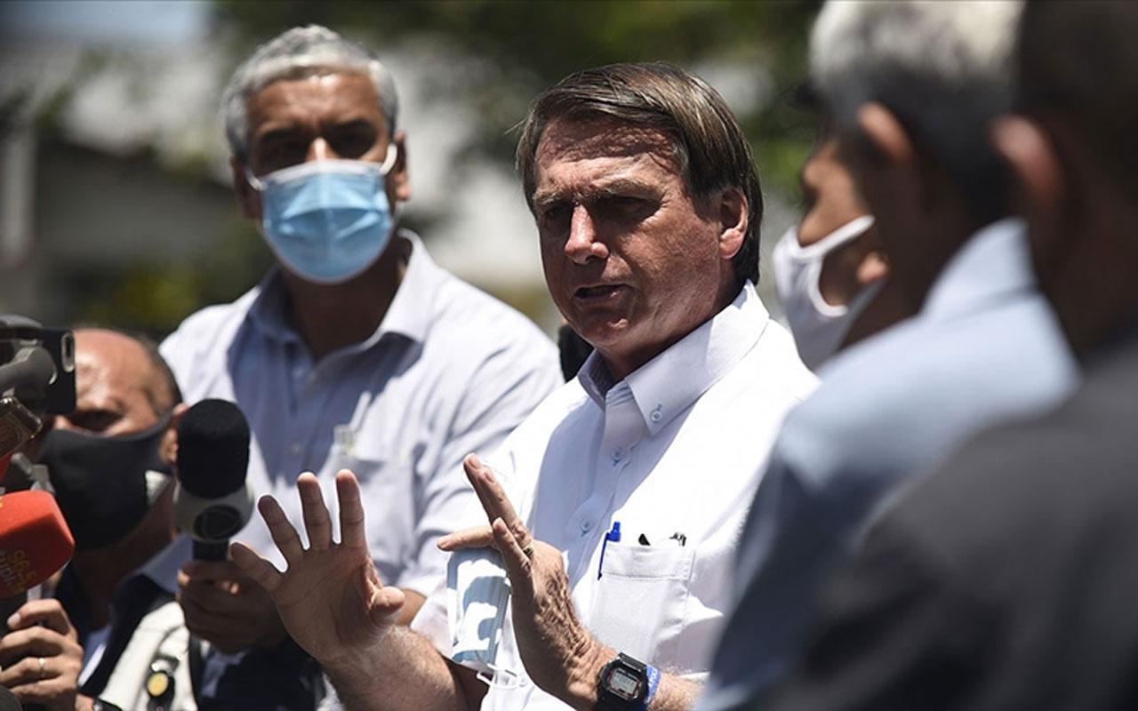 Brezilya lideri Bolsonaro Covid-19 salgınıyla ilgili halktan 'sızlanmayı bırakmalarını' istedi