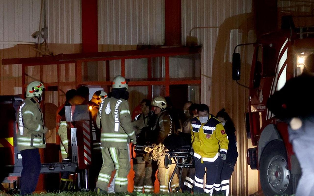 Tuzla'da et üretim tesisinde yangın! 2 kişi öldü