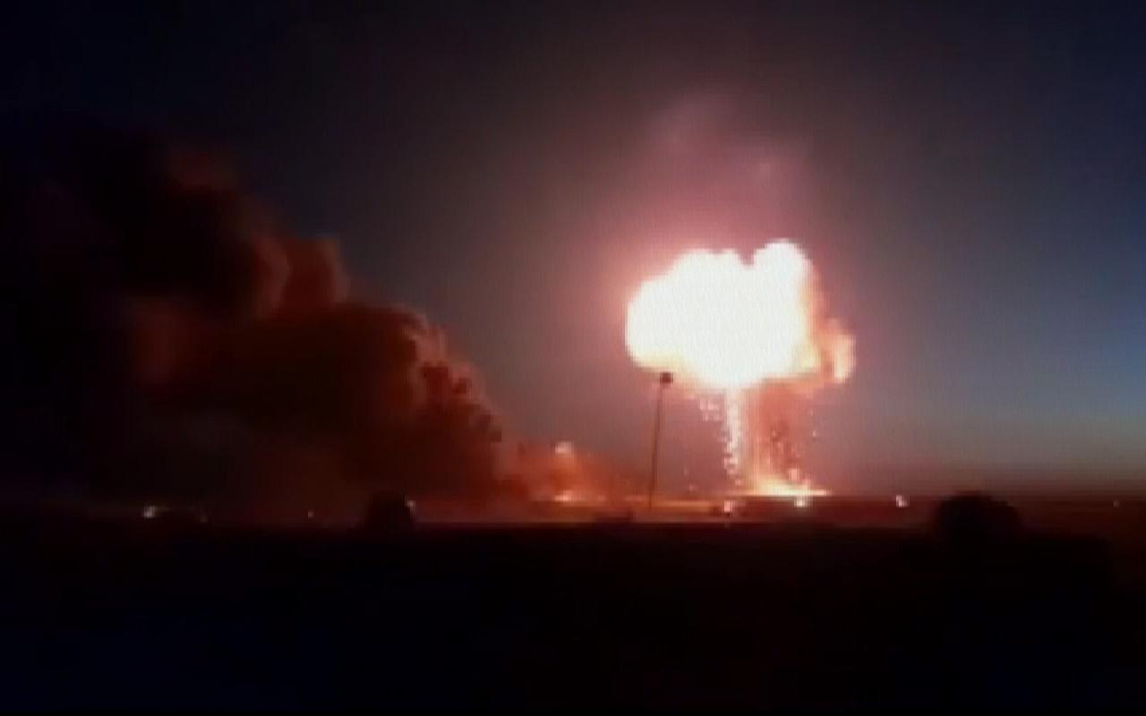 Suriye'nin kuzeyine balistik füze saldırısı