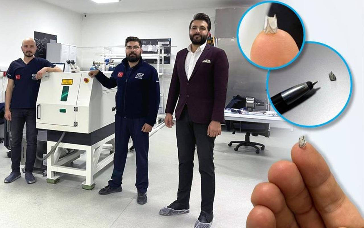 Ankara'da Türk mühendisler bir ilki yaptı! Eski haline geri getiriyor