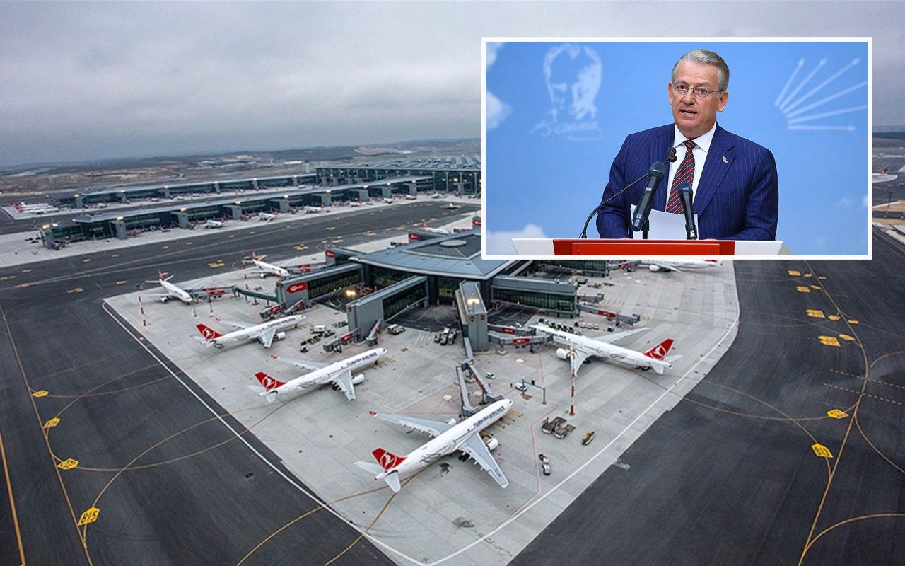 CHP'li Haluk Pekşen'in İstanbul Havalimanıyla ilgili paylaşımı olay oldu