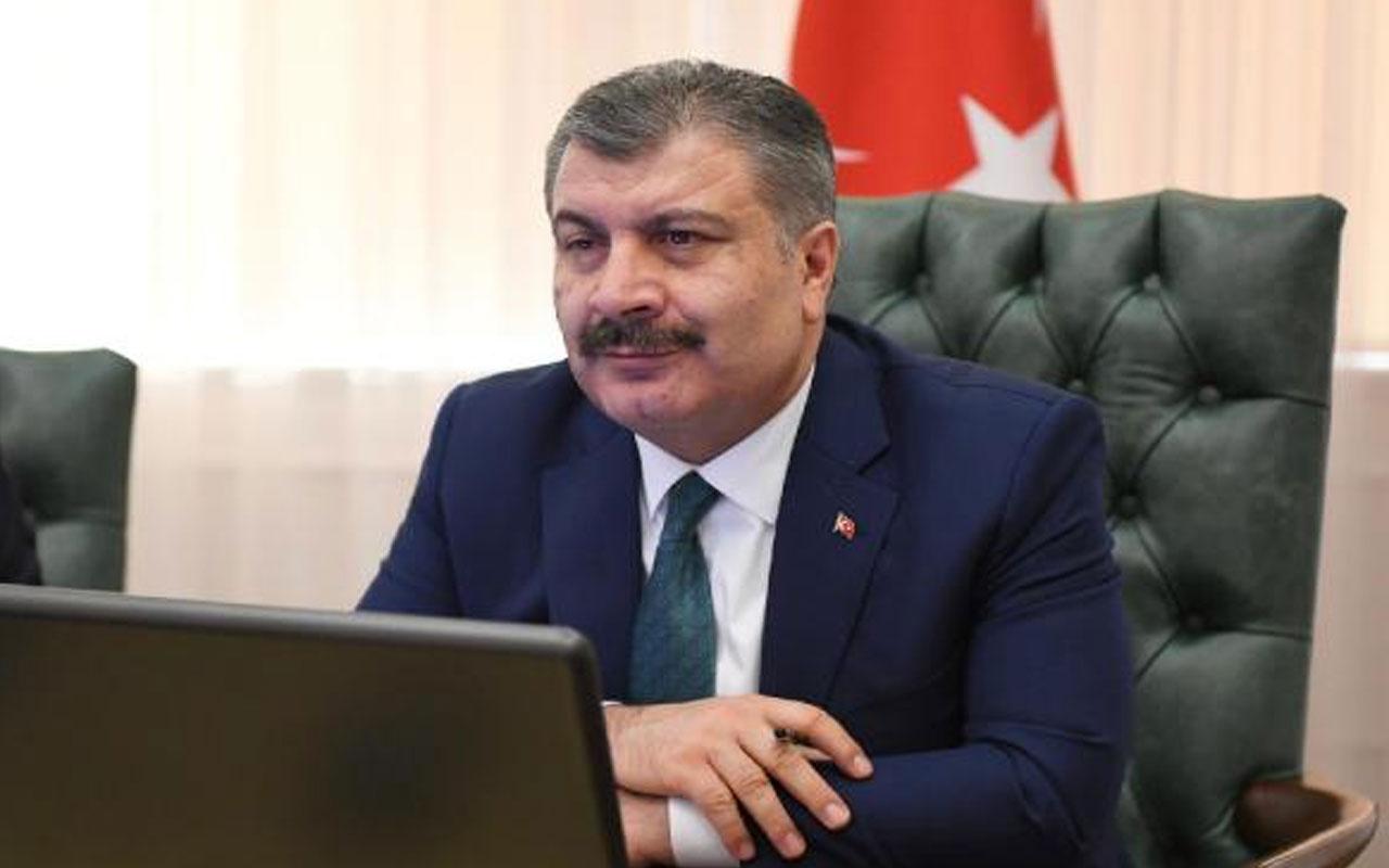 Sağlık Bakanı Fahrettin Koca 'çok yüksek riskli' 5 ilin valisi ve sağlık müdürleriyle görüştü