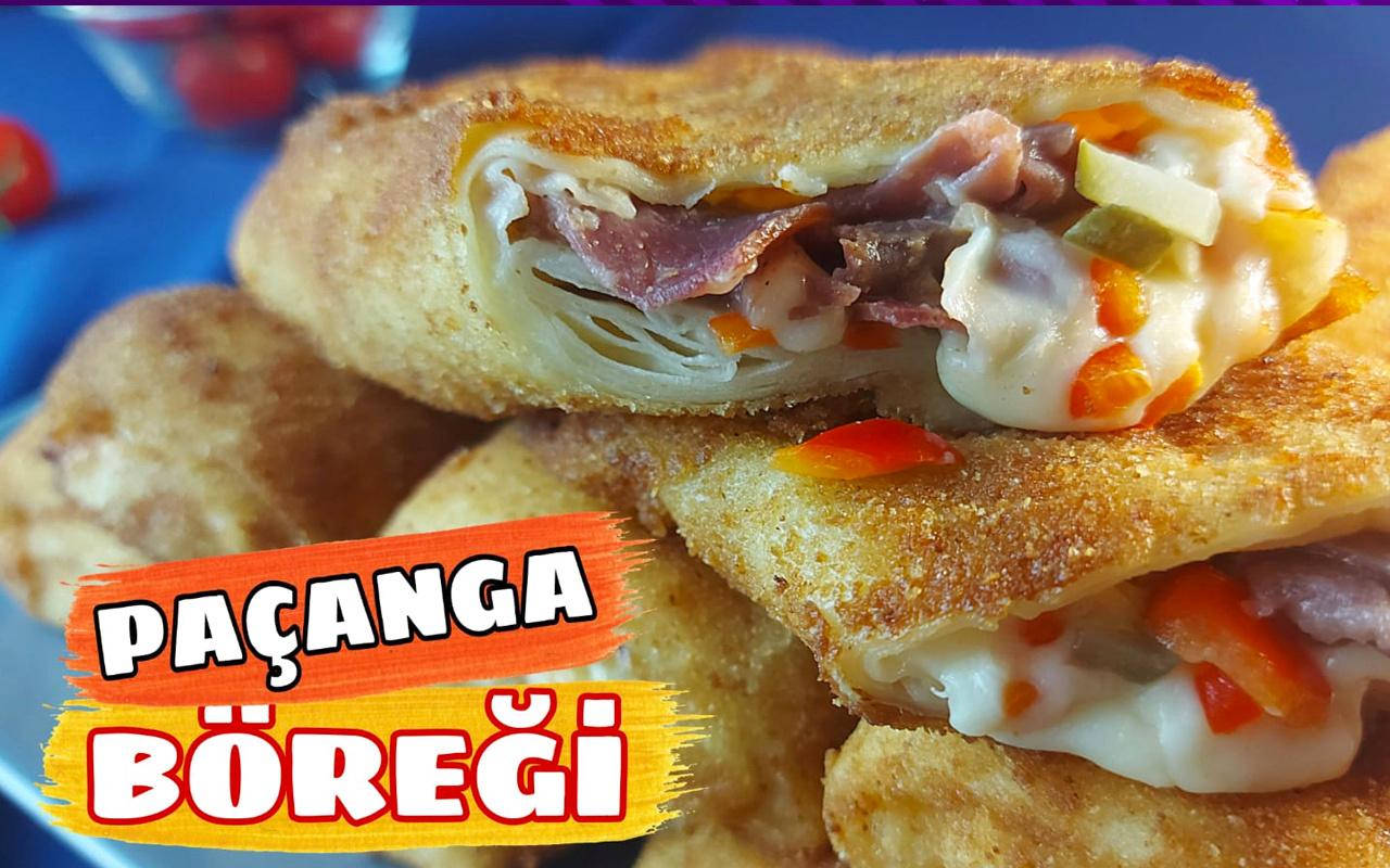 Paçanga böreği nasıl yapılır yedikçe yiyesiniz gelecek!