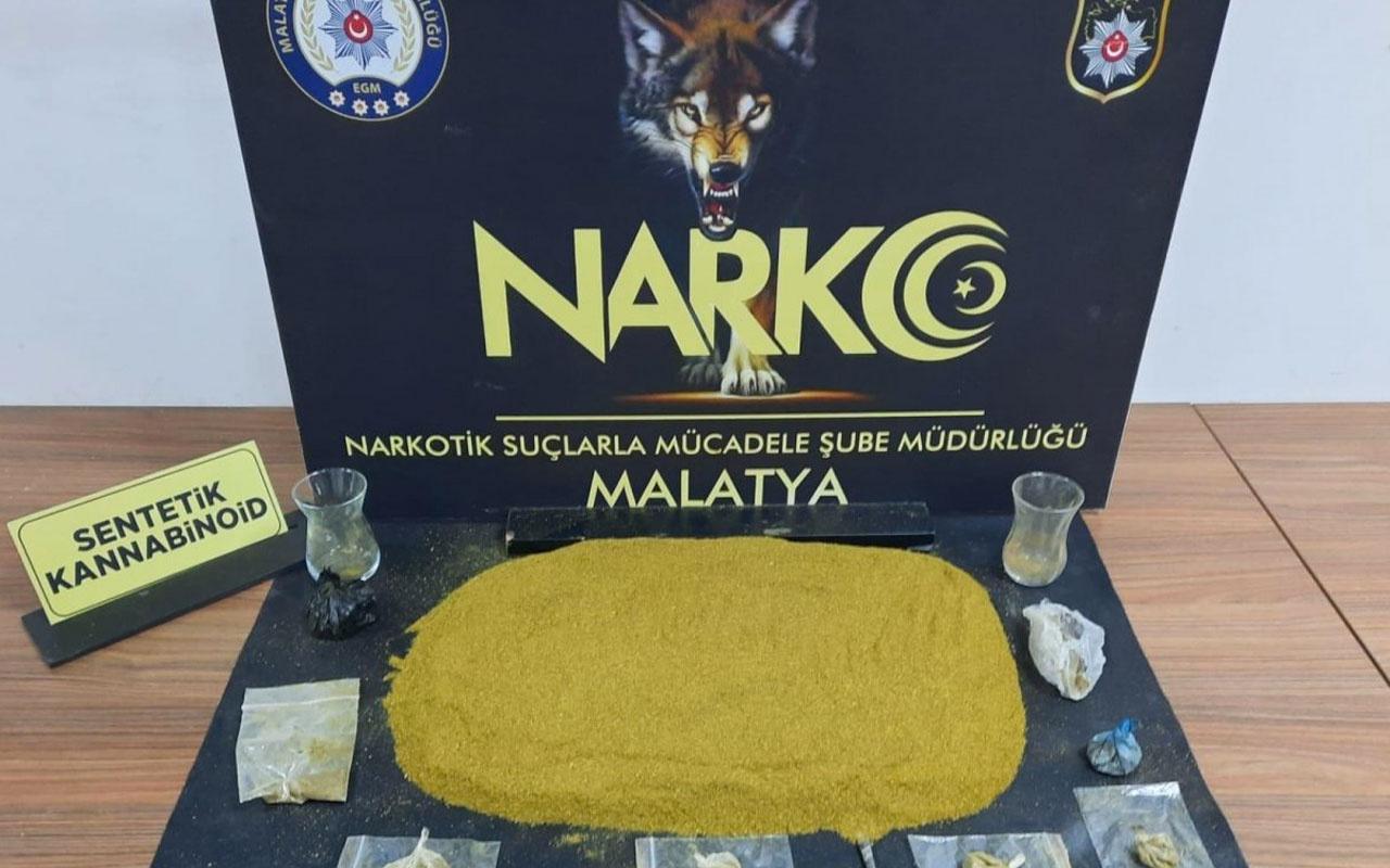 Malatya'da uyuşturucu operasyonu: 2 tutuklama