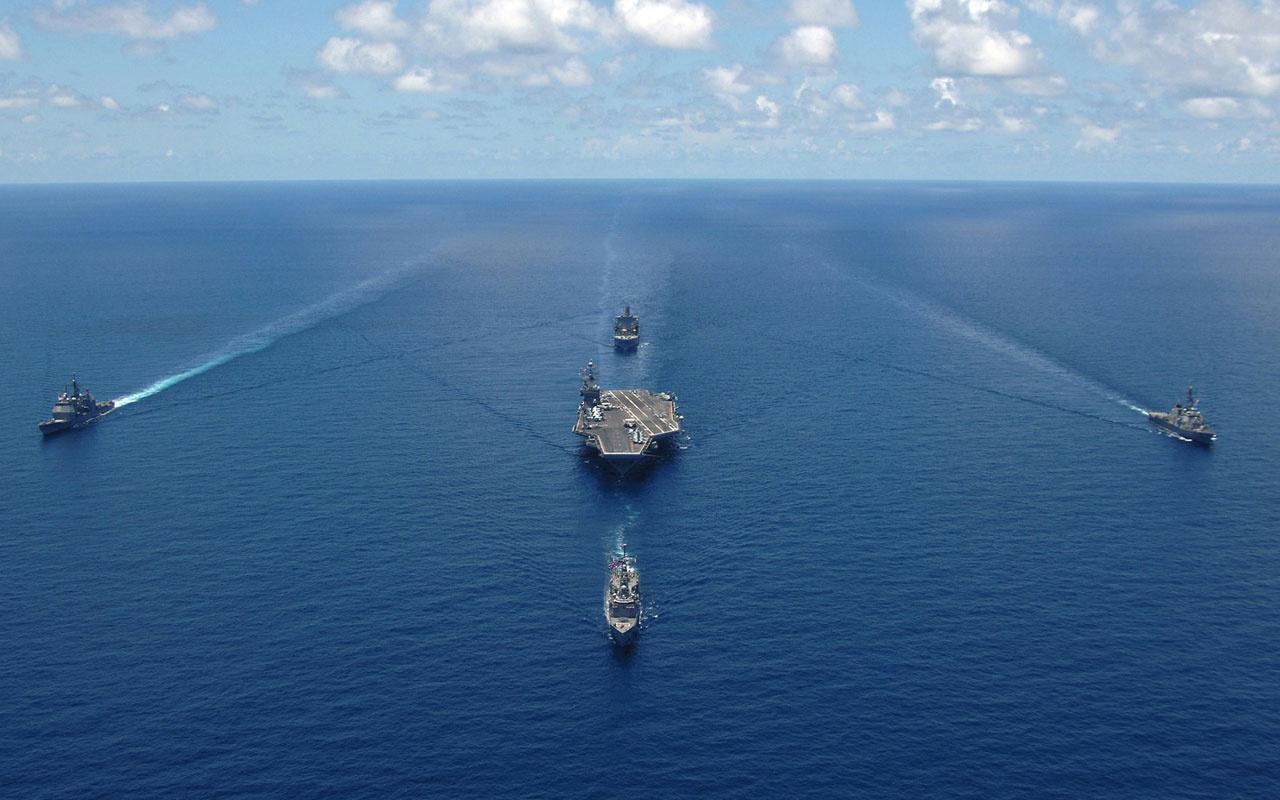 Çin donanması ABD'yi tahtından etti