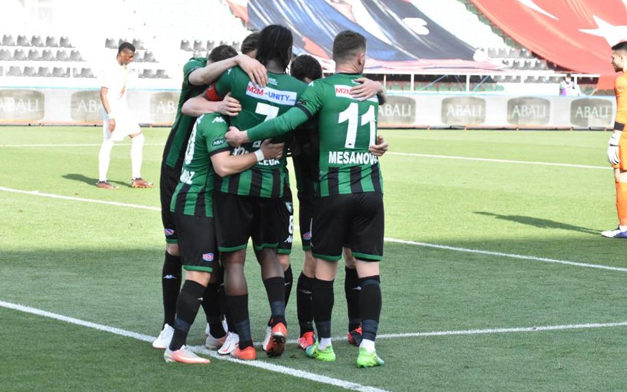 Yukatel Denizlispor-Yeni Malatyaspor maç sonucu: 3-2