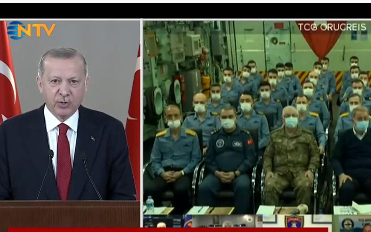 Cumhurbaşkanı Erdoğan'dan önemli Mavi Vatan mesajları