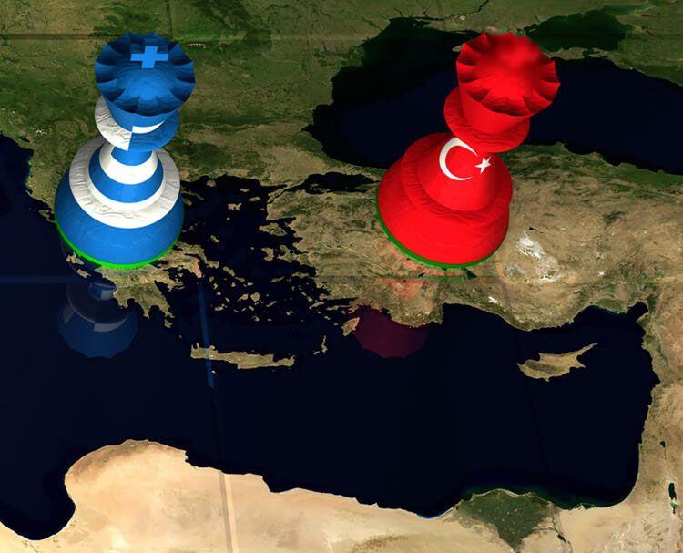 Çok tehlikeli savaş oyunu! Jetler havalandı hedef Türkiye...
