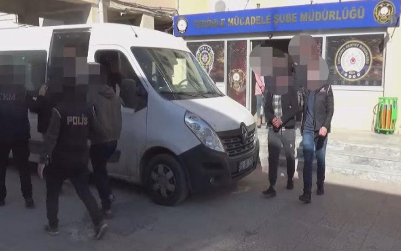 Suriye'den yurda kaçak girmeye çalışan gruptaki PKK/YPG'li terörist patlayıcıyla yakalandı