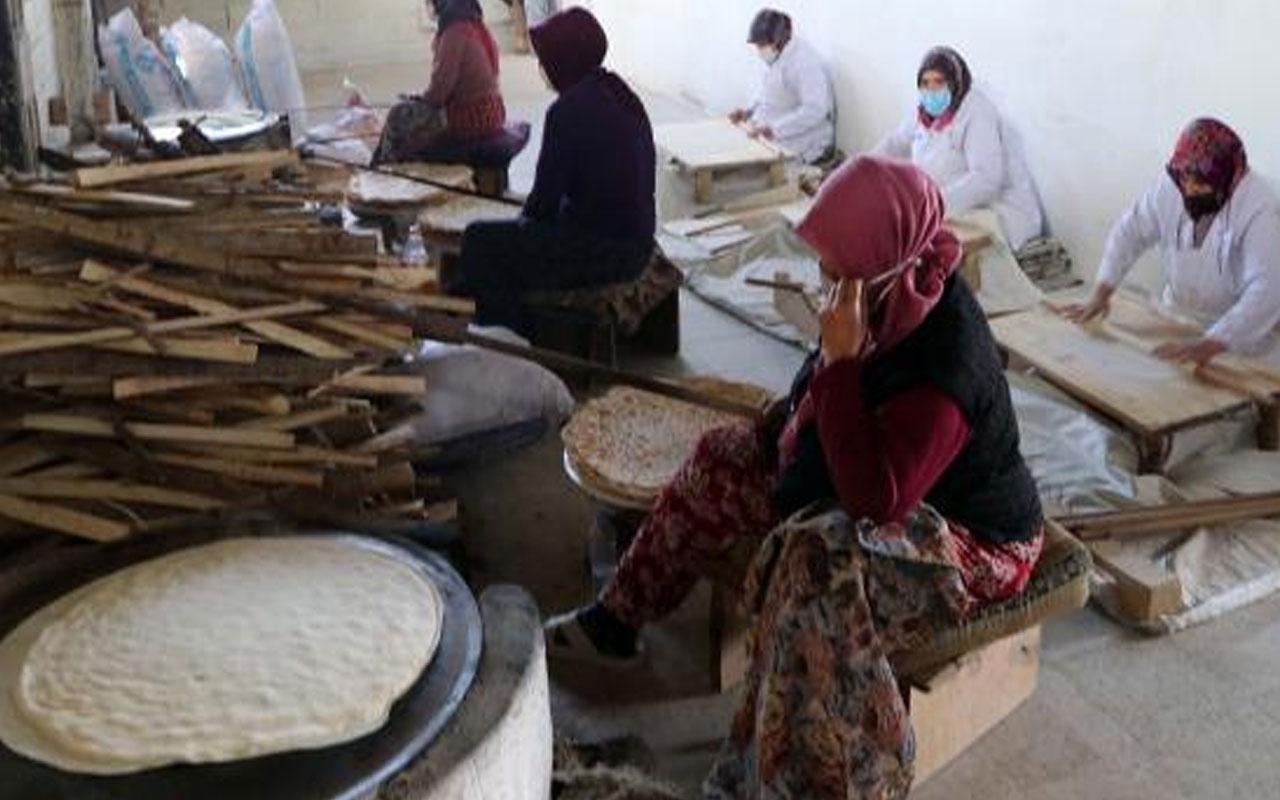 Siparişlere yetişemiyor! Çevresine ekmek satarak başladığı işte 12 kadına istihdam sağlıyor