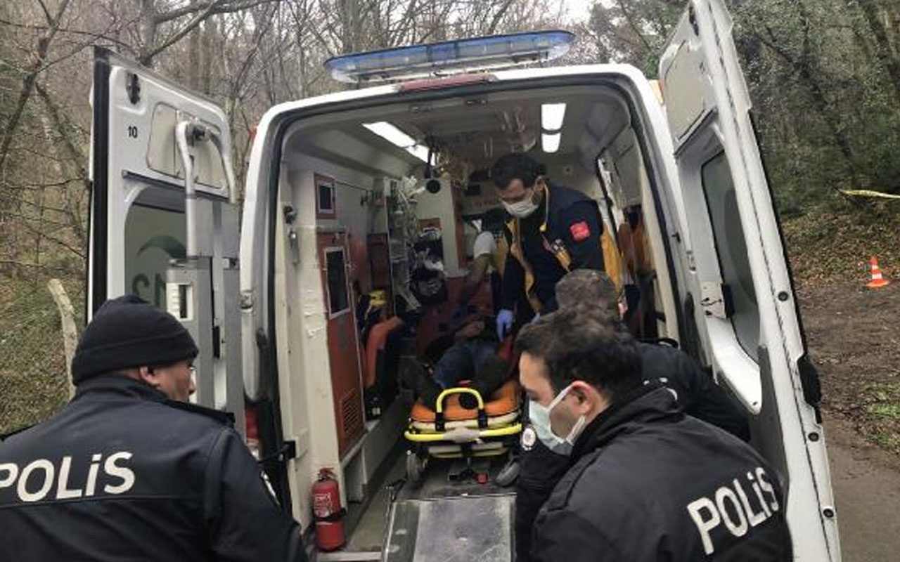 Soruşturma başlatıldı! Belgrad Ormanı'nda bulduğu silahla yanlışlıkla kendisini vurdu