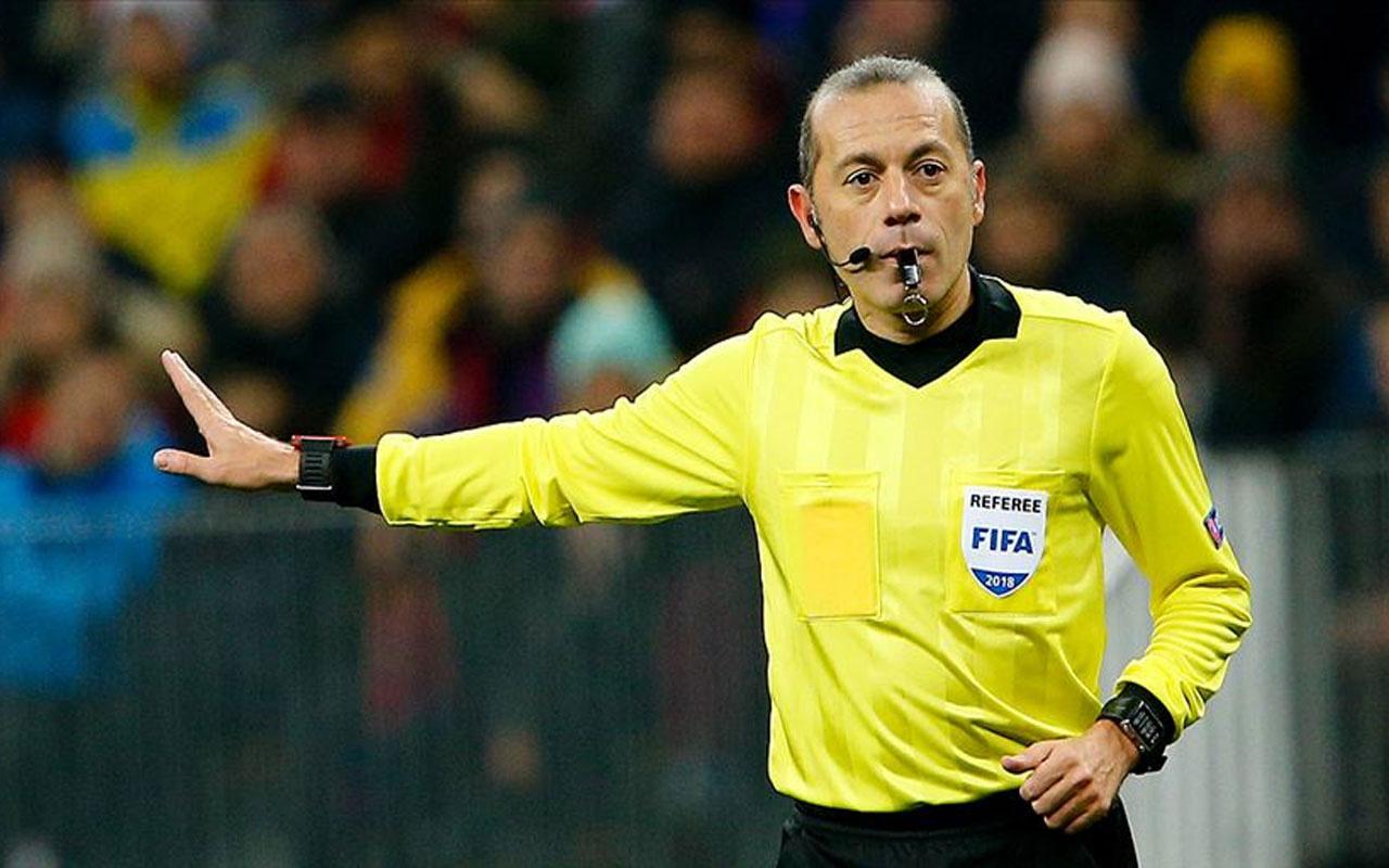 UEFA'dan Cüneyt Çakır'a görev! Yardımcıları da belli oldu