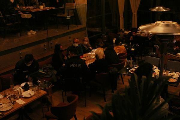 Nişantaşı'nda ünlü restorana koronavirüs baskını! 100 kişiye ceza kesildi