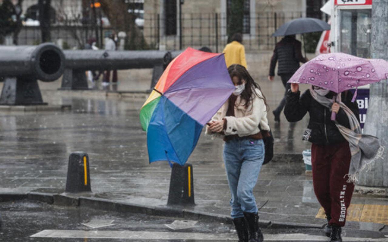 Meteoroloji'den son dakika uyarısı! Bolu Dağı'nda kar yağışı etkili oluyor
