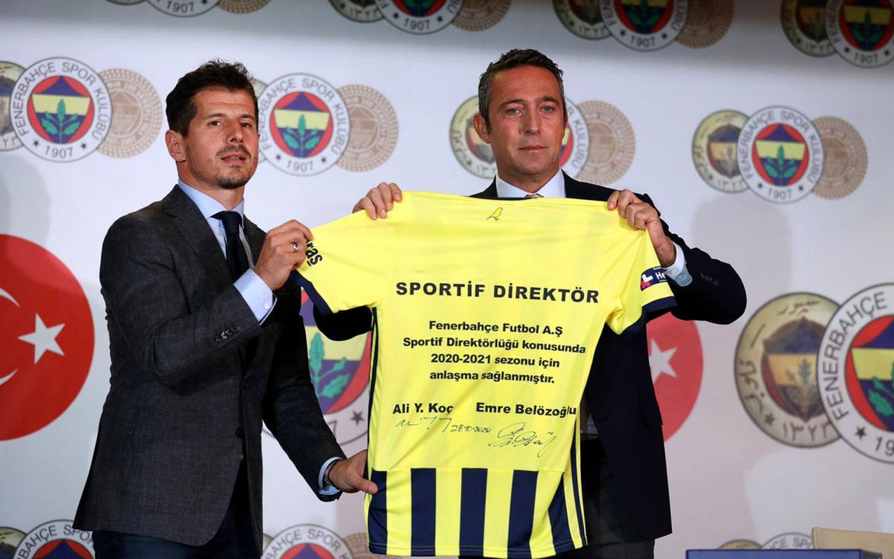 Emre Belözoğlu istifadan döndü! İşte Ali Koç'a söylediği o söz
