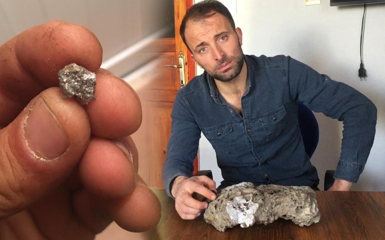 Daha önce benzerini gören olmadı! Sivas'ta tarla sürerken buldu: Kor halini alıyor