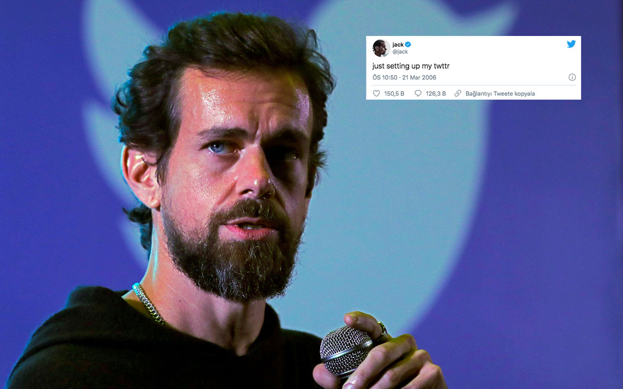 Jack Dorsey ilk tweet'ini alan kişi Türk çıktı! 2,5 milyon dolar ödedi