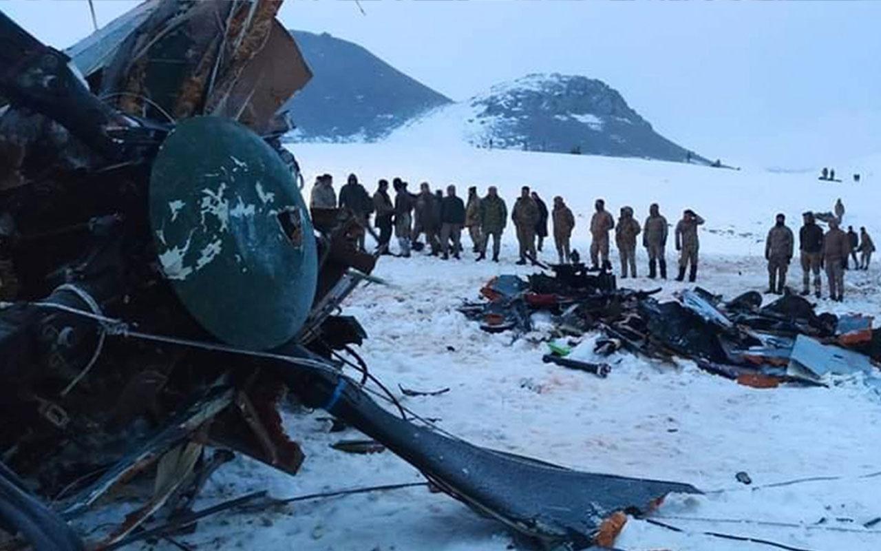 Bitlis'teki helikopter kazasında ön rapor! MSB sebebini açıkladı