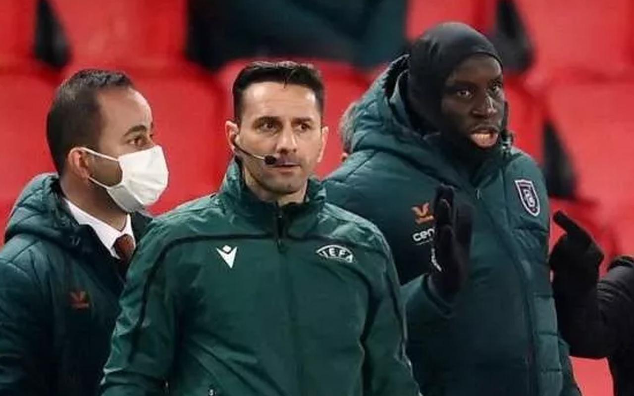 PSG-Başakşehir maçının ırkçı hakemi Coltescu'ya sezon sonuna kadar men cezası