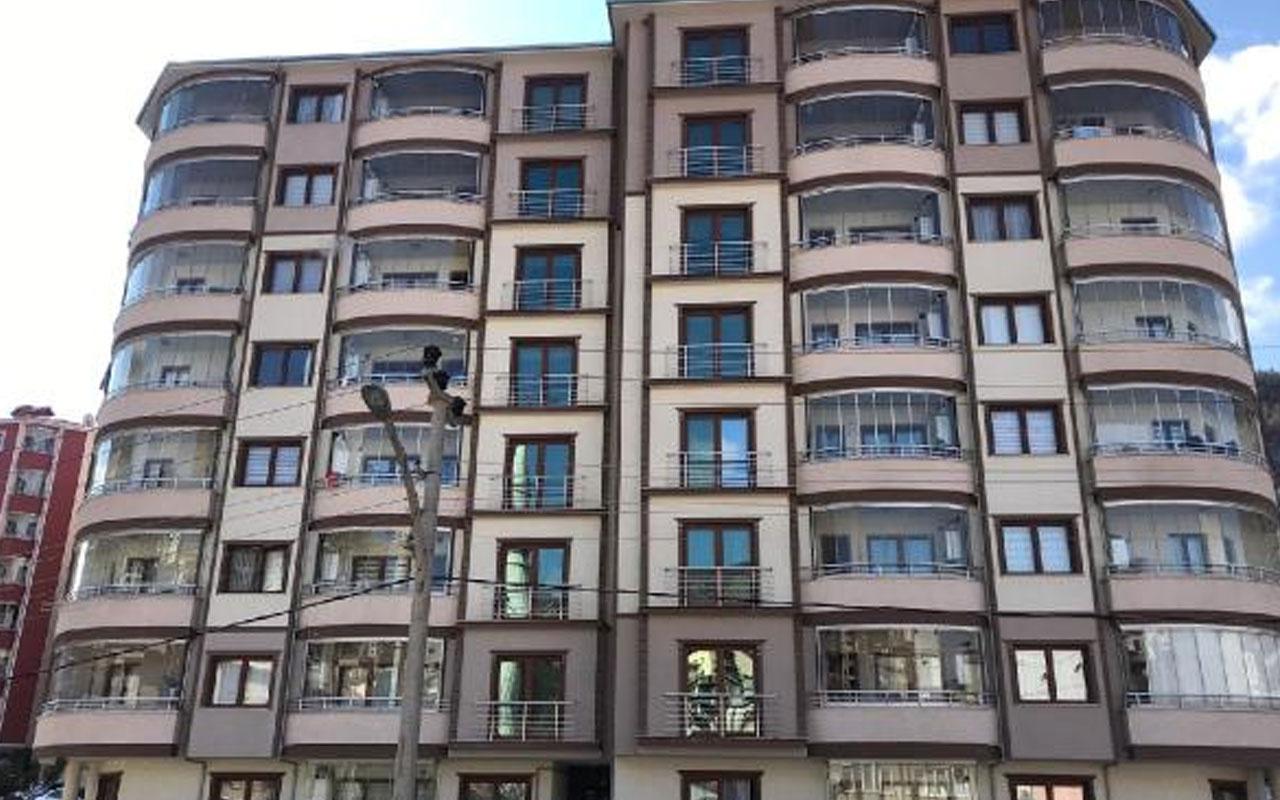 Gümüşhane'de 8 katlı apartman karantinaya alındı! Valilik açıkladı