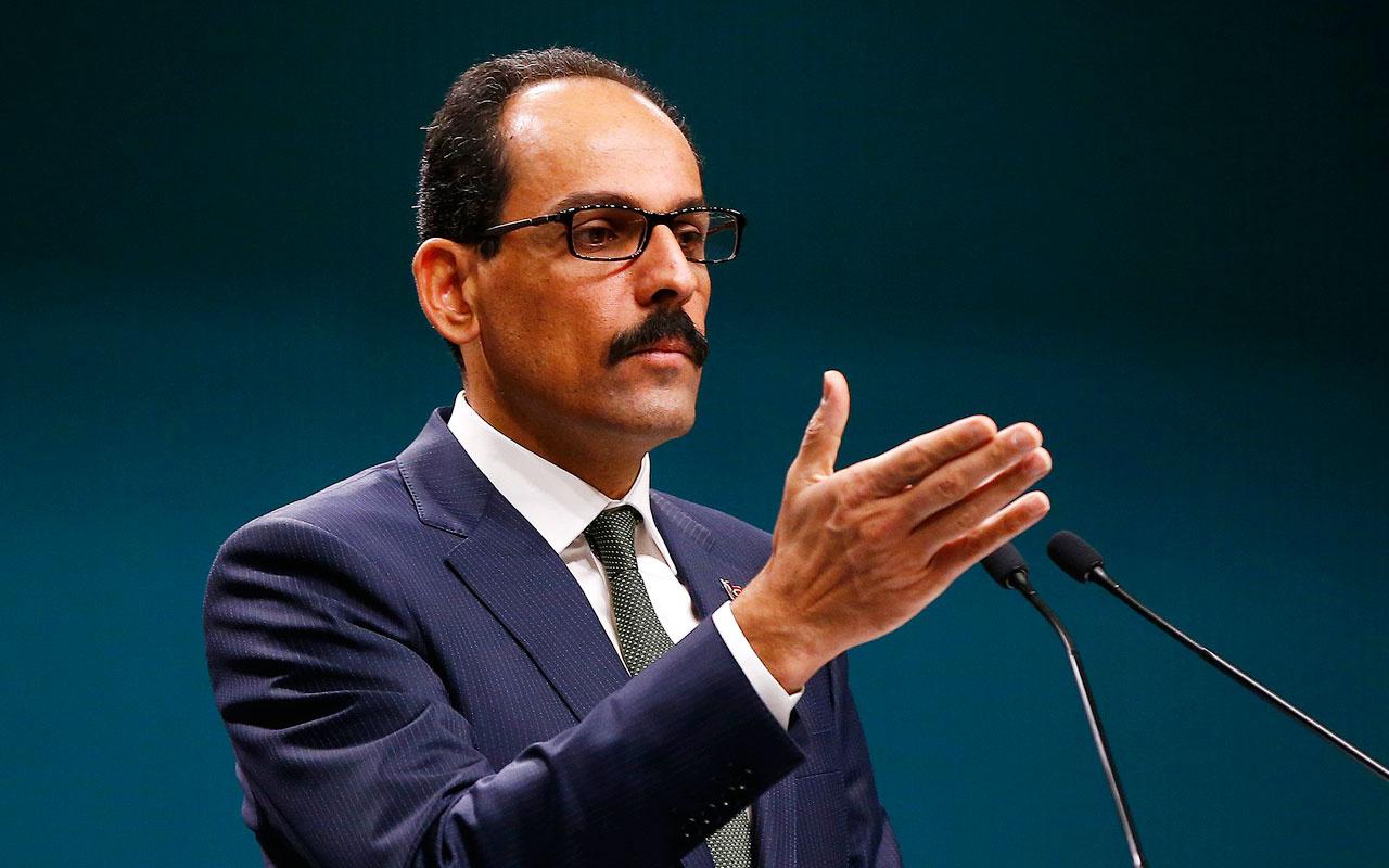 Cumhurbaşkanlığı Sözcüsü İbrahim Kalın'dan S-400 açıklamaları