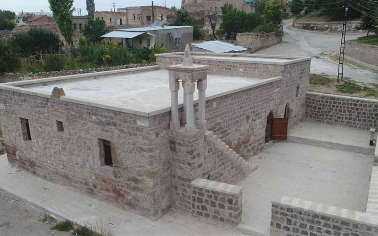 Kayseri'de 8 asırlık cami restore edildi