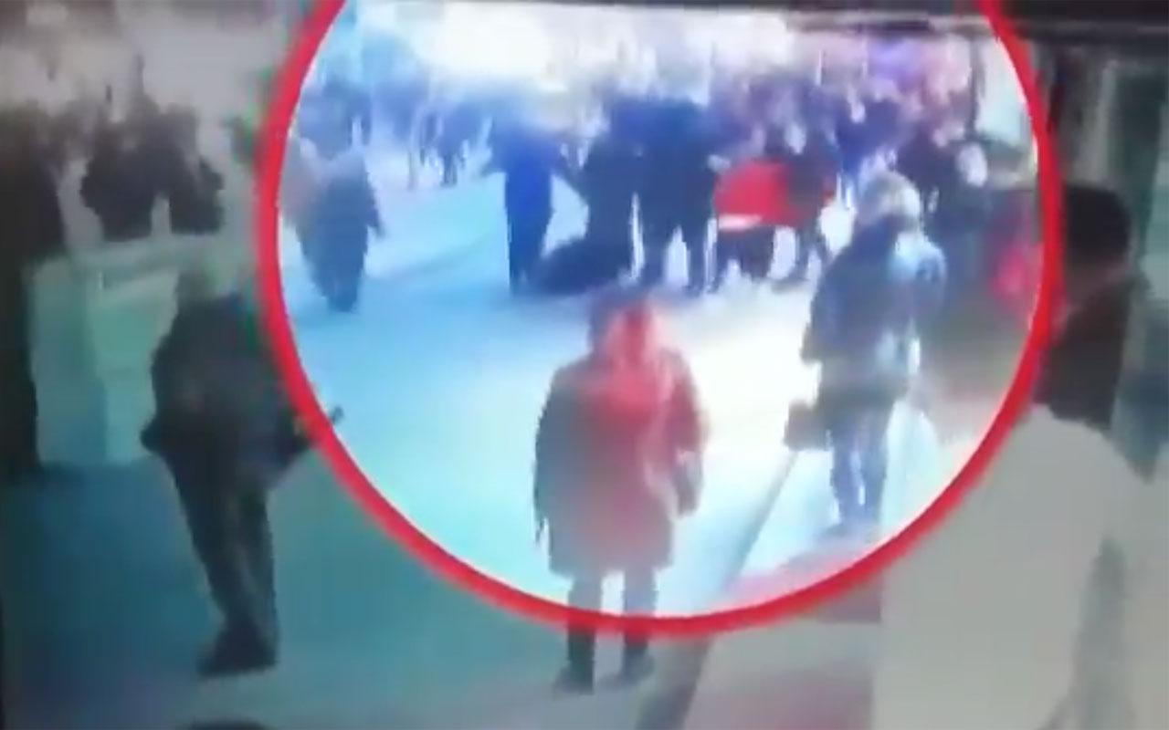 Levent Gültekin'e saldırı görüntüleri! Tekme tokat vurdular parmakları kırıldı