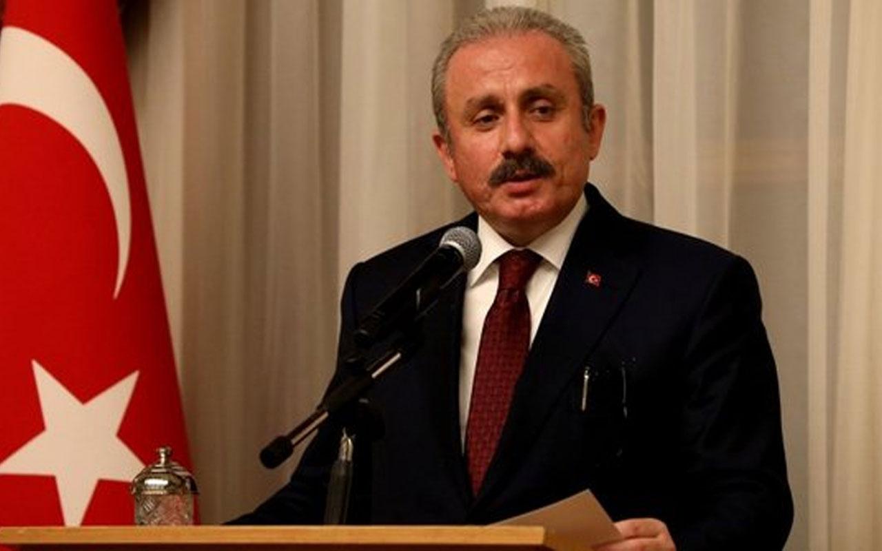 TBMM Başkanı Mustafa Şentop'tan 'kadına şiddet' açıklaması: Yapılacak çok şey var!
