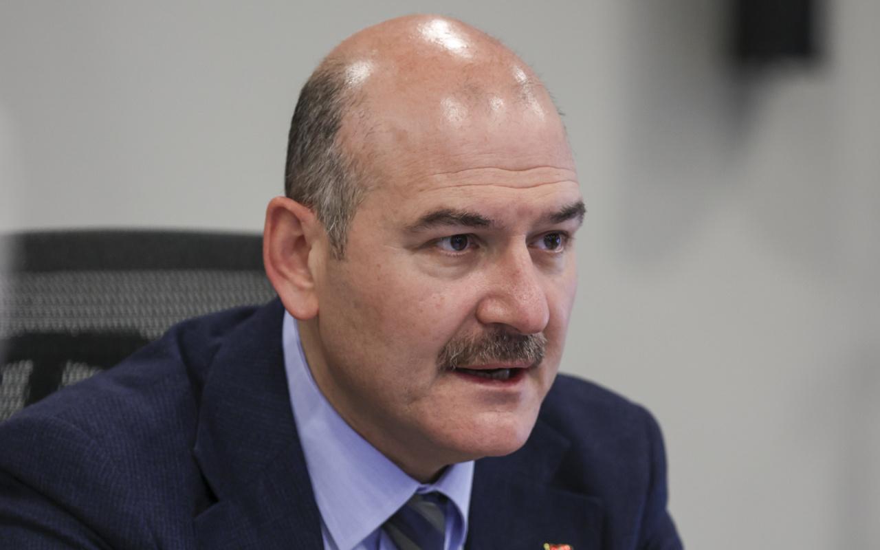 İçişleri Bakanı Süleyman Soylu: KADES'e 75 bin 592 kadın ihbarda bulundu