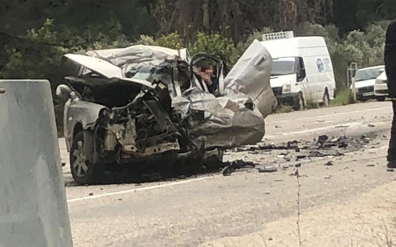 Muğla'da katliam gibi kaza 5 kişi hayatını kaybetti.