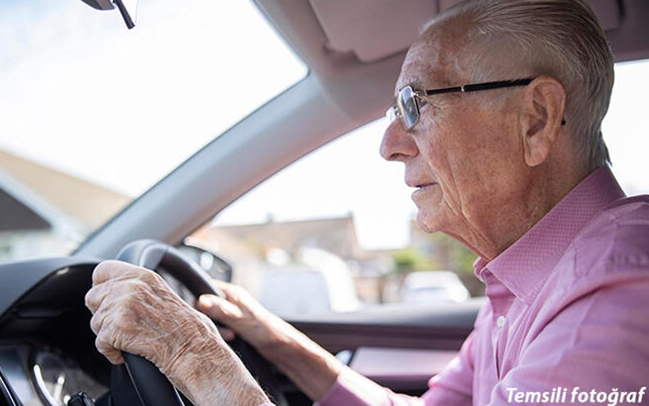 Kaza yapıp ehliyetini kaptırdı! Yaşını duyan inanamadı