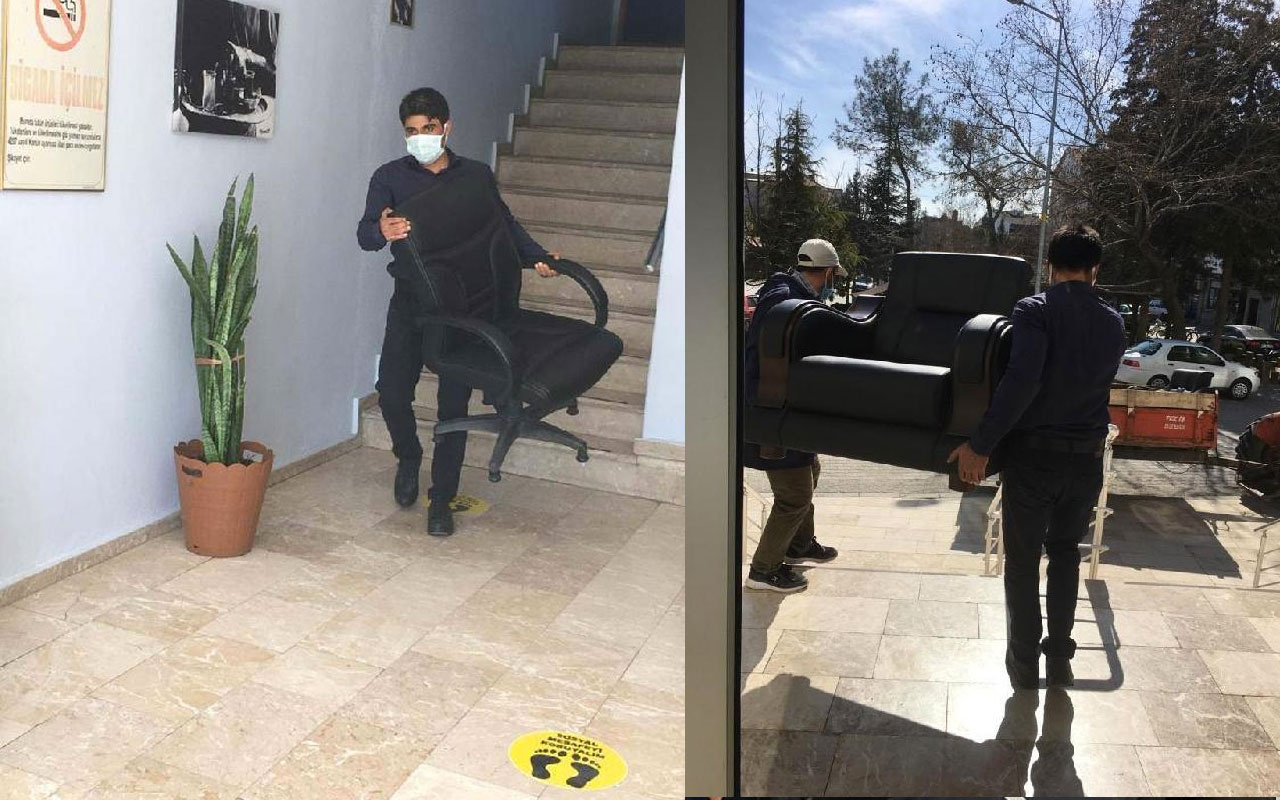 CHP'li Başkan Birsen Çelik'in makam koltuğu ve aracı haczedildi