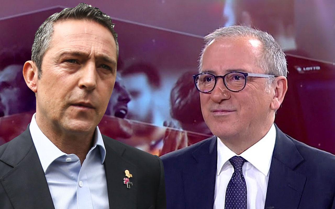 Fatih Altaylı'dan bomba Ali Koç ve Rıdvan Dilmen iddiası