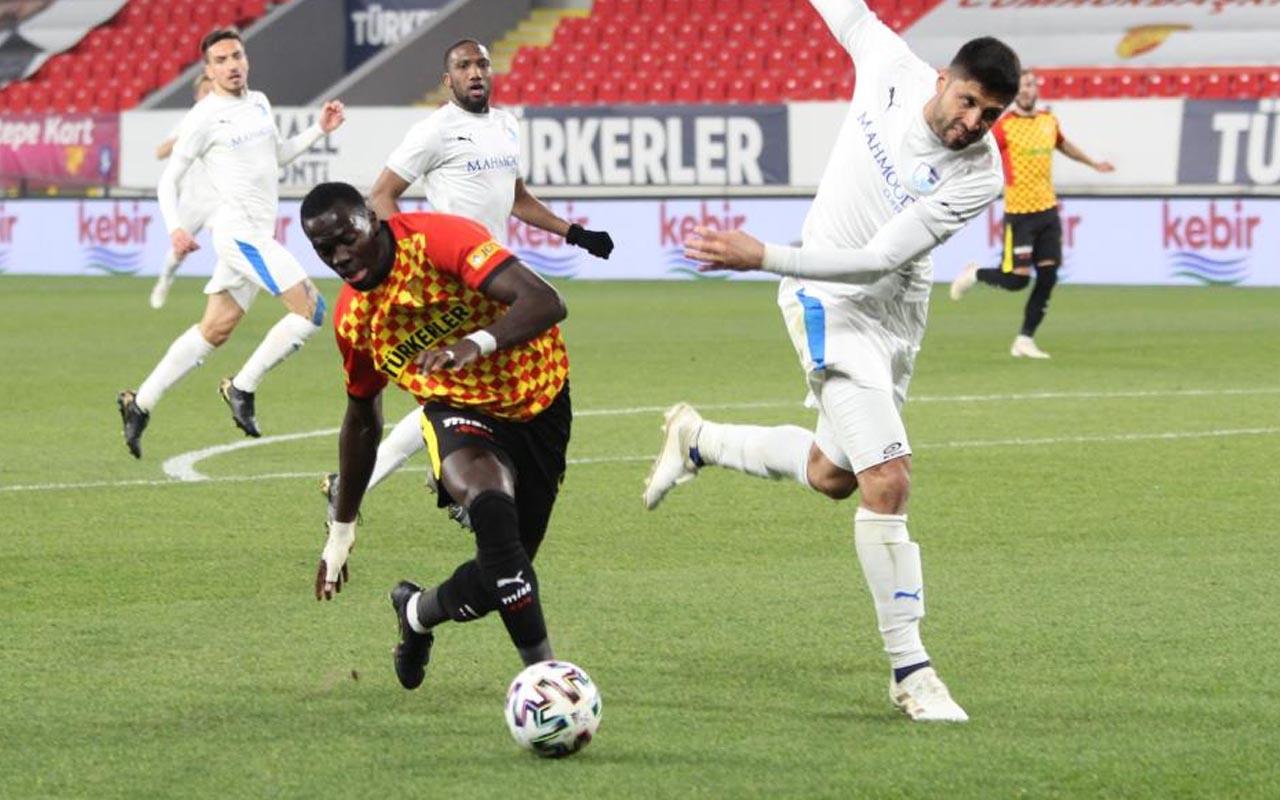 Göztepe Erzurumspor'u mağlup etti 5 maçlık seri yakaladı