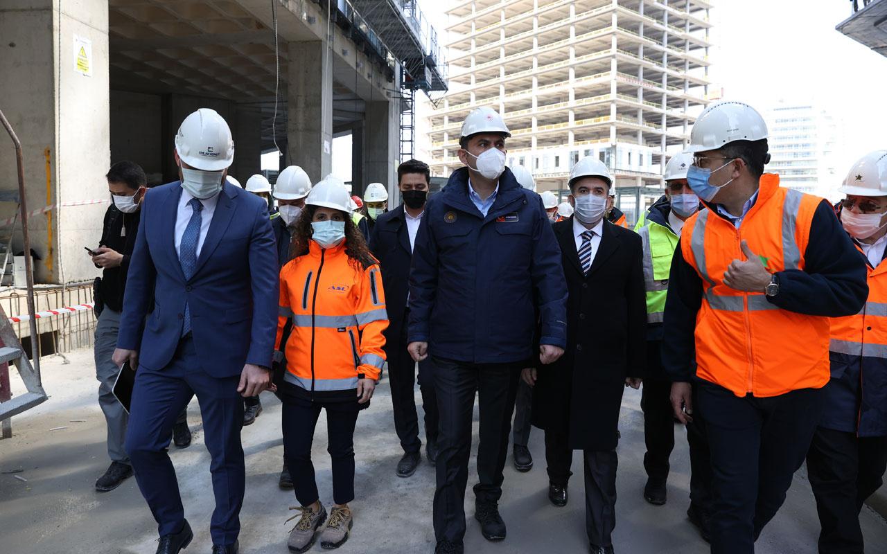 Çevre ve Şehircilik Bakanı Kurum, İstanbul Finans Merkezi için tarih verdi