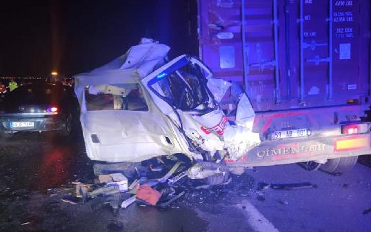 Osmaniye'de zincirleme trafik kazası: 1 kişi öldü 5 kişi yaralandı