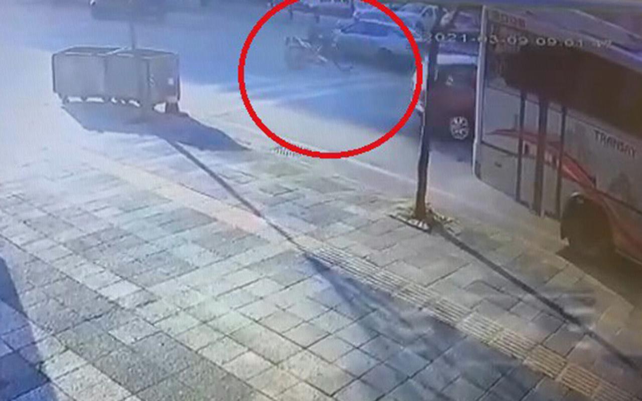 Kocaeli'de otomobile çarpmamak için manevra yapan motosikletli hayatını kaybetti