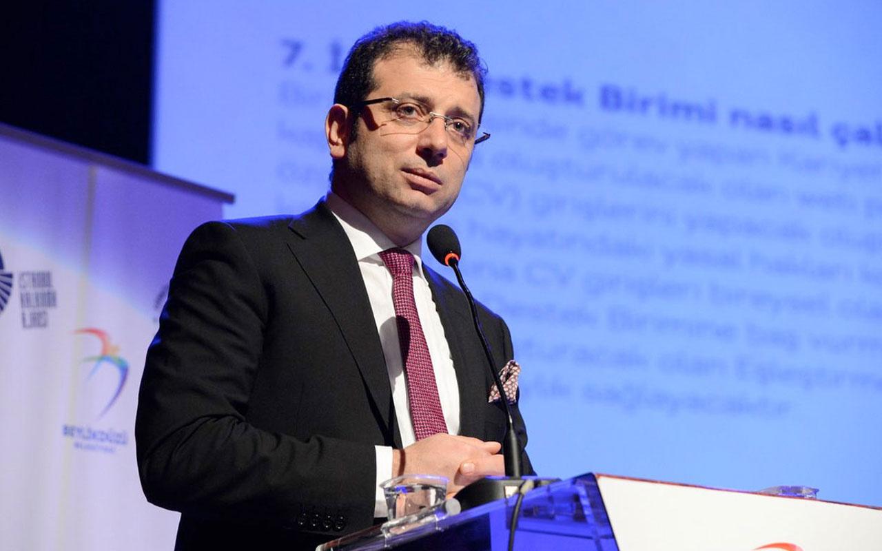 """Ekrem İmamoğlu'na büyük şok! """"Fazilet Durağı"""" yalanına sahte evrak soruşturması"""
