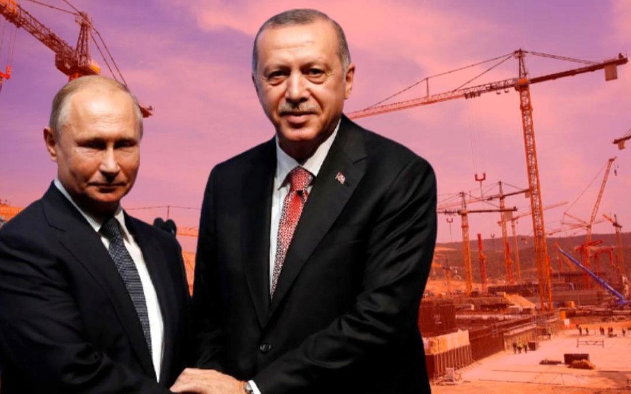Erdoğan ve Putin, Akkuyu NGS temel atma törenine katıldı! Son dakika açıklamalar