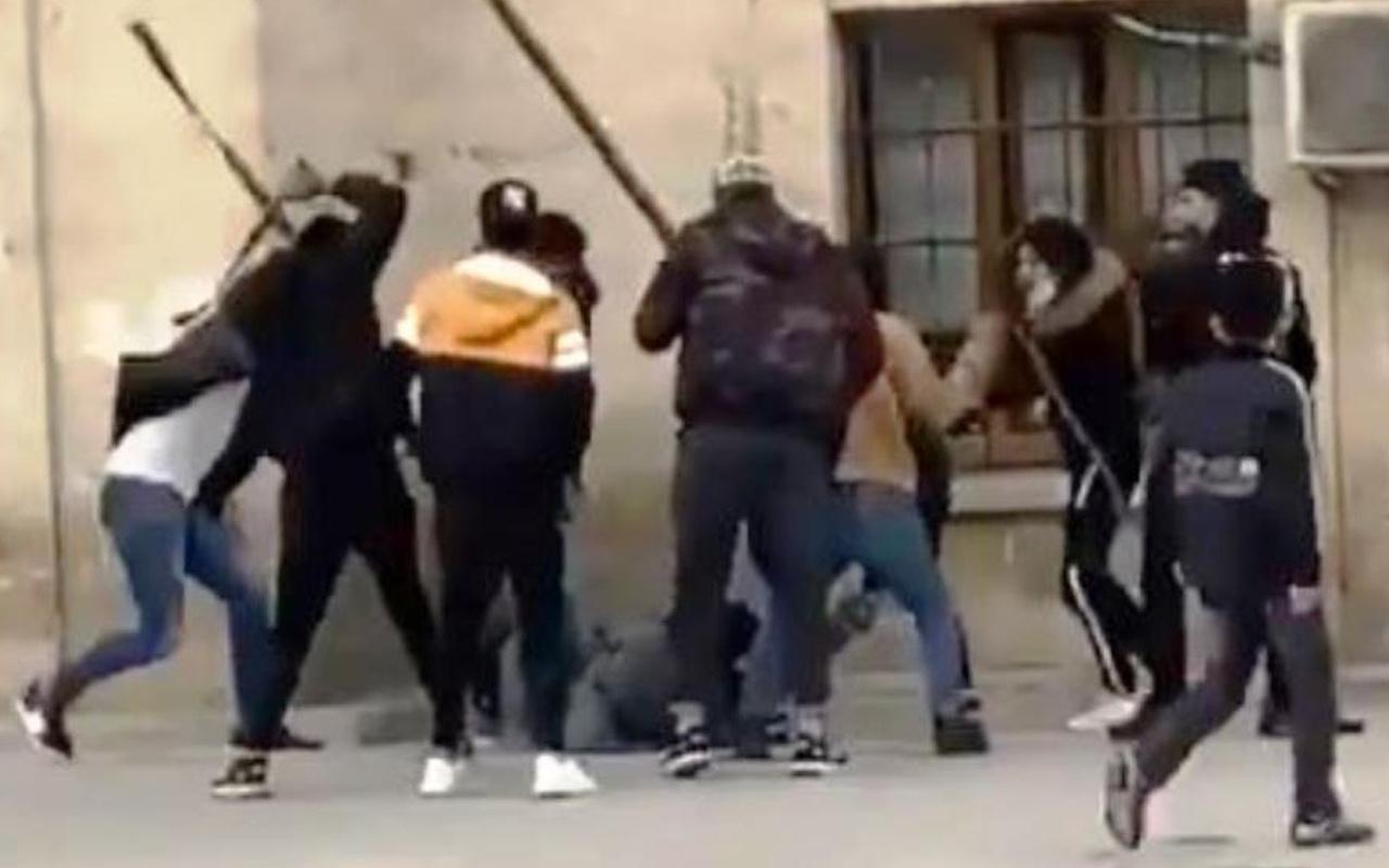 Şanlıurfa'da demir boru, sopa, kemer ve bıçakla saldırdılar! Öldüresiye dövdüler işte o anlar