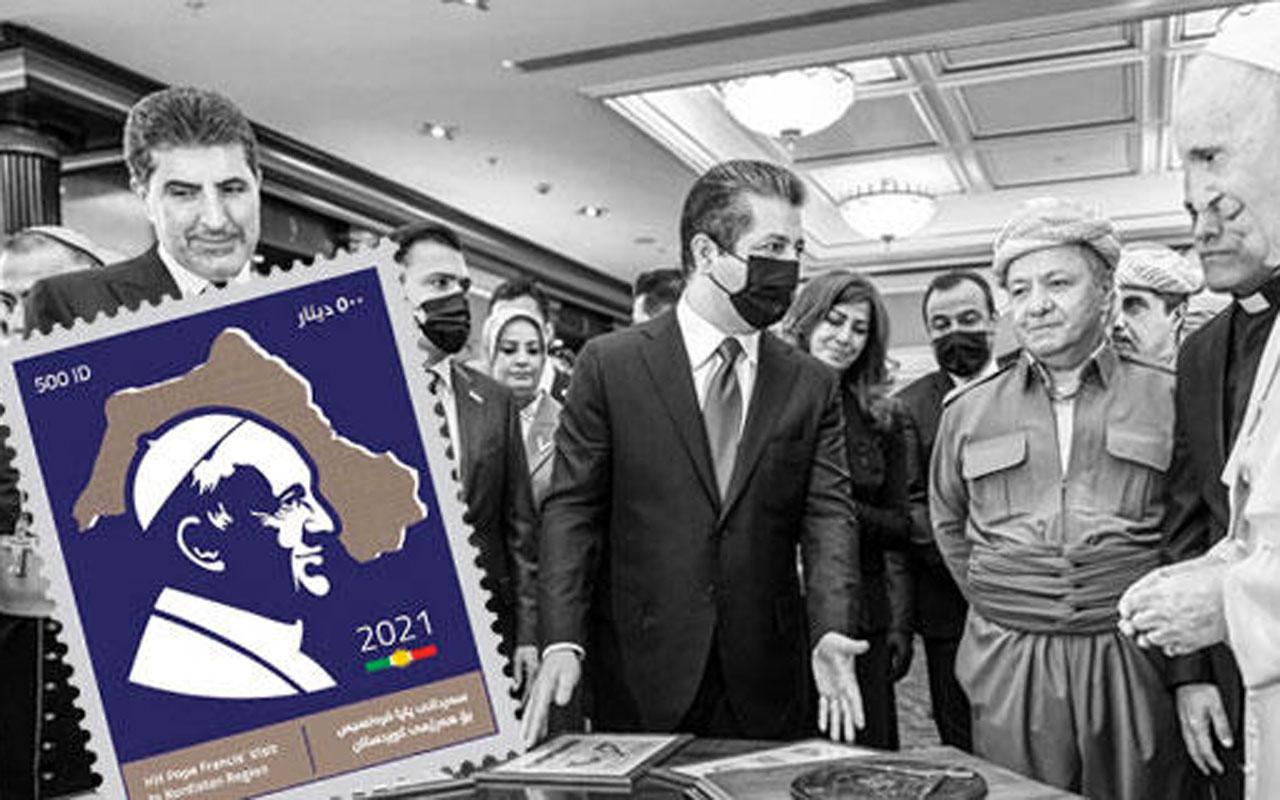 Dışişleri Bakanlığı'ndan Barzanilerin harita skandalına sert tepki derhal düzeltin